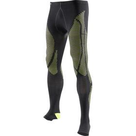 X-Bionic Precuperation Pants Long Herre black/yellow